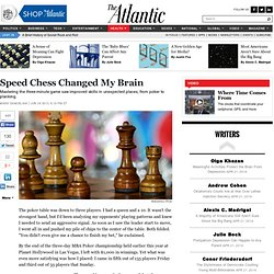 Speed Chess Changed My Brain - Mark Samuelian