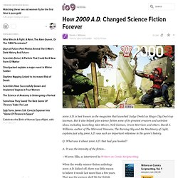 How 2000 A.D. Changed Science Fiction Forever