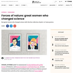 Forces of nature: great women who changed science - Inside The Perimeter