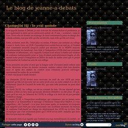 Changelin III : le vrai monde - Le blog de jeanne-a-debats