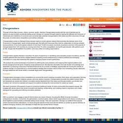 Ashoka - Innovadores para el Público