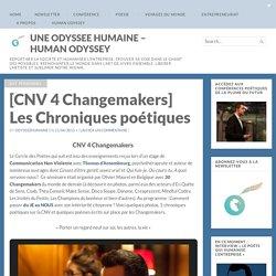 [CNV 4 Changemakers] Les Chroniques poétiques