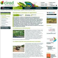 CIRAD 18/09/14 DOSSIER : Changement climatique et agriculture