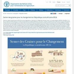 Semer des graines pour le changement en République centrafricaine (RCA)