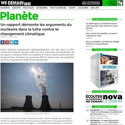 Un rapport démonte les arguments du nucléaire dans la lutte contre le changement climatique