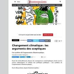 Changement climatique : les arguments des sceptiques