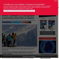 COP21 : comment le changement climatique affectera la France - Science-et-vie.com