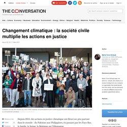 L'émergence de class-actions climatiques