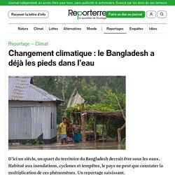 Changement climatique: le Bangladesh a déjà les pieds dans l'eau