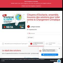 La Région Citoyenne : je participe à l'Occitanie - Citoyens d'Occitanie, ensemble, trouvons des solutions pour lutter contre le Changement Climatique ! - Citoyens d'Occitanie, ensemble, trouvons des solutions pour lutter contre le Changement Climatique !