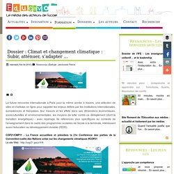 """Ressources """"Climat et changement climatique"""" - Educavox"""
