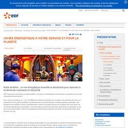 Changement climatique - Groupe EDF
