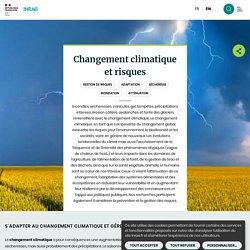 Changement climatique et risques