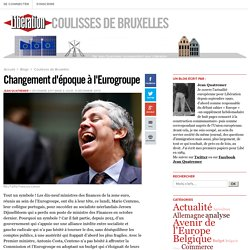 Changement d'époque à l'Eurogroupe