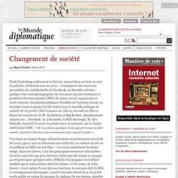 Changement de société, par Mona Chollet