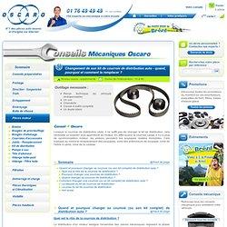 Changer une courroie de distribution auto, conseils mécaniques Oscaro