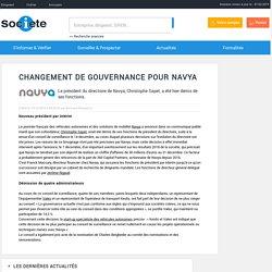 Changement de gouvernance pour Navya - Actualité Societe.com