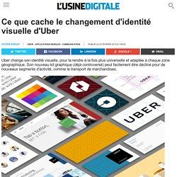 Ce que cache le changement d'identité visuelle d'Uber