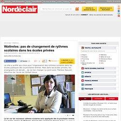 Wattrelos: pas de changement de rythmes scolaires dans les écoles privées - Wattrelos