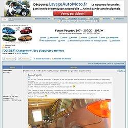 Peugeot 307 - Voir le sujet - [DOSSIER] Changement des plaquettes arrières - Forum Peugeot 307 - 307CC - 307SW
