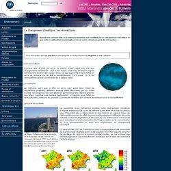 Le changement climatique : les rétroactions