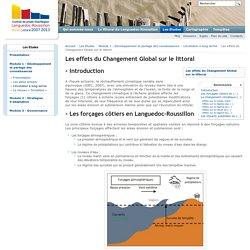 Les effets du Changement Global sur le littoral — Littoral Languedoc Roussillon