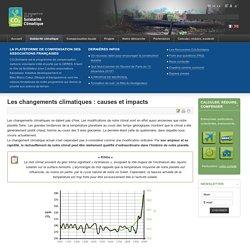 Les changements climatiques : causes et impacts