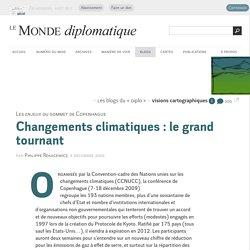 Changements climatiques : le grand tournant