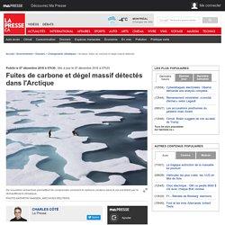 Fuites de carbone et dégel massif détectés dans l'Arctique