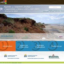 Changements climatiques - Adaptation en zone côtière