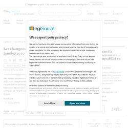 Les changements sur le bulletin de paie au 1er janvier 2020 LégiSocial