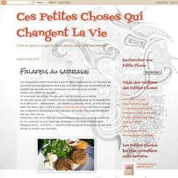 Falafels au sarrasin