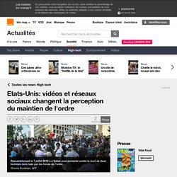 Etats-Unis: vidéos et réseaux sociaux changent la perception du maintien de l'ordre sur Orange Actualités