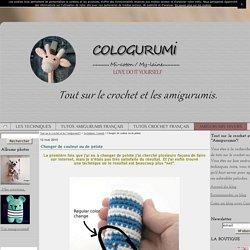 """Changer de couleur ou de pelote - Tout sur le crochet et les """"Amigurumis""""!"""