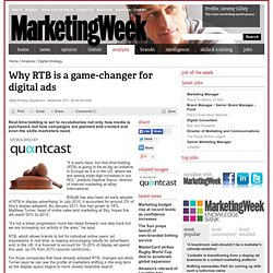 Why RTB is a game-changer for digital ads | Archive