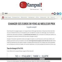 Changer ses Euros en Yens au meilleur prix