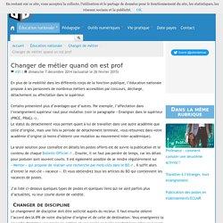 Changer de métier quand on est prof - Blog de Julien Delmas