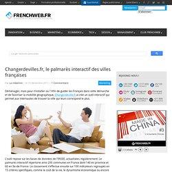 Changerdevilles.fr, le palmarès interactif des villes françaises