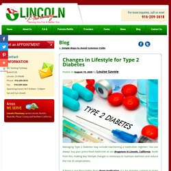 Changes in Lifestyle for Type 2 Diabetes