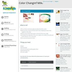 Color Changinf Milk!