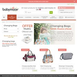 Baby Changing Bags and Accessories - Babymoov