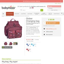 Glober Changing Bag & Accessories by Babymoov