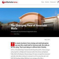 The Changing Face of American Malls