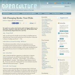 """Life-Changing Books"""