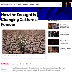 How the Drought Is Changing California Forever