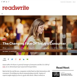 The Changing Face Of Today's Consumer - ReadWrite