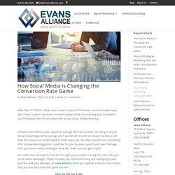 How Social Media is Changing the Conversion Rate Game