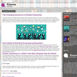 Knovva Academy: The Changing Dynamics of Global Citizenship