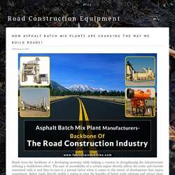 Buy Quality Road Construction Equipment From Fabindia Industries