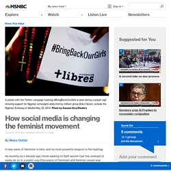 How social media is changing the feminist movement